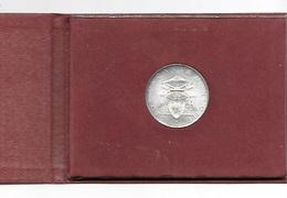 VATICANO SEDE VACANTE - 1958 - L. 500 Argento FDC , Con Astuccio Originale - Vaticano