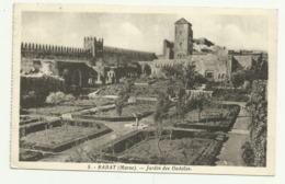 Carte Sépia   5.  RABAT (Maroc)  .Jardin Des Oudaias - Rabat