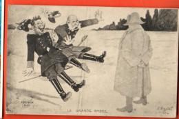 TRL-22 Guerre 1914-18 La Grande Ombre, Dessin De S. Vignal 1914. Non Circulé - Umoristiche