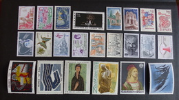 FRANCE - Année 1980 - 39 Timbres ** Neufs Sans Charnière Différents - Stamps