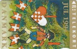 Denmark, TS 015, Christmas 1994, 20 Kr, Only 20.000, 2 Scans. - Denmark