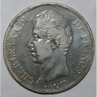 GADOURY 644 - 5 FRANCS 1827 M Toulouse CHARLES X 2nd TYPE - TB+ - KM 728 - - J. 5 Francs
