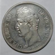 GADOURY 644 - 5 FRANCS 1829 B Rouen CHARLES X 2nd TYPE - TTB - KM 728 - - J. 5 Francs