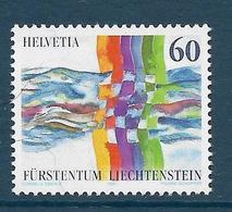 Timbre Neuf** De Suisse, N°1490 Yt,émission Conjointe Avec Le Liechtenstein, Voisinage - Neufs