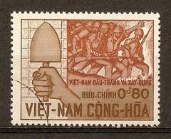 1966 - 3ème Anniversaire De La Révolution - Travail Et Armée - N°297 Vietnam Du Sud - Viêt-Nam