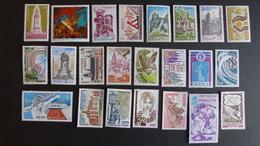 FRANCE - Année 1978 - 52 Timbres ** Neufs Sans Charnière Différents - Stamps