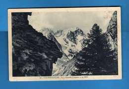 CORMAYEUR - Le GRANDES JORASSES. Viaggiata 16/05/1932. Vedi Descrizione - Italia