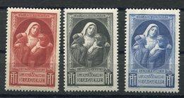 RC 11254 FRANCE N° 26 / 28 BIENFAISANCE DES PTT 1940 / 1944 NEUF ** SANS CHARNIERES TB - Commemorative Labels