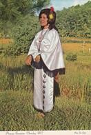Princess Ernestine , Cherokee Indian , North Carolina , 1977 - Indiens De L'Amerique Du Nord