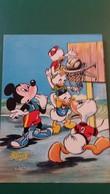 CPSM WALT DISNEY MICKEY DONALD ET LES ENFANTS SPORT BASKET M 16 TRICHEURS  ED LYN1A 1965 - Disney