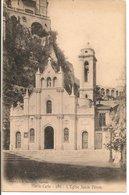 L20J539 - Monté Carlo - L'Eglise Sainte Dévote - E.Lacour N°986 - Carte Précurseur - Monte-Carlo