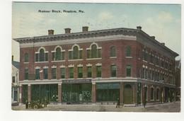 HOULTON, Maine, USA, F W Woolworth's Store, Mansur Block, 1913 Postcard - Etats-Unis