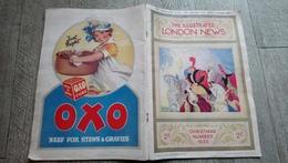 The Illustrated London News Nov 1933 Publicité Christmas Number - Art