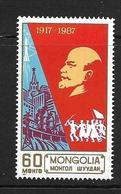MONGOLIE 1987 REVOLUTION D'OCTOBRE  YVERT N°1523 NEUF MNH** - Histoire