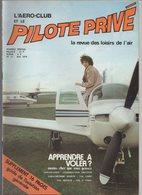 Revue L'aéro-club Et Le Pilote Privé N°53 Mai 1978 - Guide De L'aviation Générale - Apprendre à Voler? - Les Norecrin - Aviation