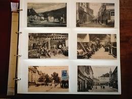 Magnifique Lot 224 Cartes Dans Album Lindner Toutes Scannées Beaucoup De Selections Cartes Photos ...  CPA Divers France - Postcards