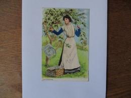 ARLESIENNE H. HATZAL 1905 A. S. V. SERIE 603 CACHET COURTISOLS 11 NOV 05 MARNE - Illustrateurs & Photographes