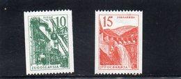 YOUGOSLAVIE 1958 ** - Neufs