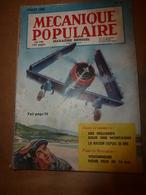 1952 MÉCANIQUE POPULAIRE: Pour Avoir La Forme TOP à 50 Ans; Colombophilie ; Faire Une Table Roulante Pour Jardinier;etc - Books, Magazines, Comics