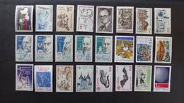 FRANCE - Année 1986 - 46 Timbres ** Neufs Sans Charnière Différents - Stamps