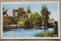 MUSSIDAN  (24).EGLISE DE SOURZAC.CPSM.CIRCULE 1958.BE. - Autres Communes