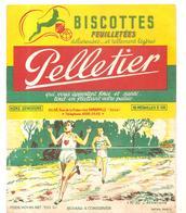 Buvard Pelletier Biscottes Pelletier Série Sport N°30 L'Athlétisme - Biscottes