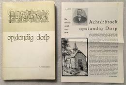 Achterbroek, Opstandig Dorp (1867-1885) - A Tireliren - 1963 - Kalmthout - Histoire