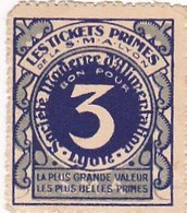"""Lot  8 Monnaie De Nécessité """"Les Tickets Primes Société  Moderne Alimentaire - Bon Pour 3 - 10 Et 1 - Bons & Nécessité"""