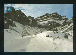 Ed. Fisa, 1ª Serie Paisajes Nevados Nº 8. Nueva. - Postales