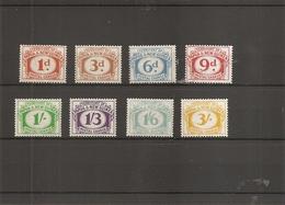 Papouasie ( Taxes 6/13 XXX -MNh- Taxe 12 X -MH) - Papouasie-Nouvelle-Guinée