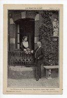 NAPOLEON - Les Napoléon En Exil - Le Prince Et La Princesse Napoléon Dans Leur Jardin - Personnages