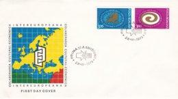 Romania FDC 1973 Intereuropeana  (0033) - FDC