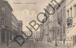 Postkaart - Carte Postale TIENEN/Tirlemont Rue De La Station - Stationsstraat  Tram! 1924 (K39) - Tienen
