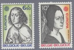 1975 Nr 1766-67** Postfris Zonder Scharnier, Europa,schilderijen Dirk Bouts. - Belgique