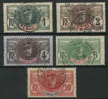 Haut Sénégal Et Niger (1906) N 1 à 5 (o) - Opper-Senegal En Niger (1904-1921)