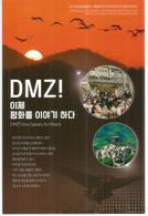 Visiting The DMZ . (Zone Démilitarisée Entre Les 2 Corées), Carte Postale DMZ Envoyée Au Japon - Corée Du Sud
