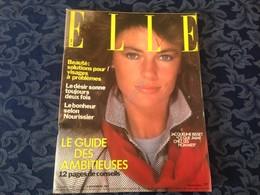 ELLE FRANCE Rivista Magazine 9 Novembre 1981 N.1870 Jacqueline Bisset C Bergen - Libri, Riviste, Fumetti