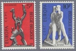 1974 Nr 1714-15** Europa,beeldhouwkunst,postfris Zonder Scharnier. - Belgique