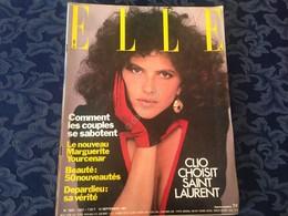 ELLE FRANCE Rivista Magazine 14 Settembre 1981 N.1862 Clio YSL - Libri, Riviste, Fumetti