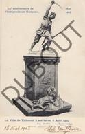 Postkaart - Carte Postale TIENEN/Tirlemont La Ville De Tirlemont à Ses Héros 1905  (K41) - Tienen