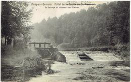 AUBY-SUR-SEMOIS - Hôtel De La Grotte De St Remacle - Le Barrage Du Ruisseau Des Allieines - Relais Felenne - Cugnon 1912 - Bertrix
