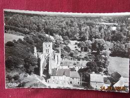 CPSM - Hambye - Vue Aérienne De La Maison Abbatiale Et L'Abbaye - France
