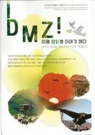 Visiting The DMZ . (Zone Démilitarisée Entre Les 2 Corées), Carte Postale DMZ Envoyée Au Japon - Guerres - Autres