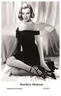 MARILYN MONROE - Film Star Pin Up PHOTO POSTCARD - 201-875 Swiftsure Postcard - Artistes