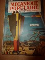 1949 MÉCANIQUE POPULAIRE:Pour Nourrir Le Monde;Montagne Magnétique Au Vénézuela;Faire De La Céramique;Plumier Secret;etc - Books, Magazines, Comics