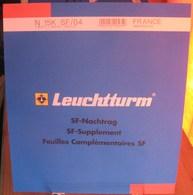 Leuchtturm - JEU FRANCE MINI-FEUILLES 2004 SF (Avec Pochettes) - Albums & Reliures