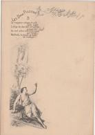 """Menu """" Les Deux Pigeons"""" / N°3 / Fable La Fontaine / Illustrateur Greux - Menus"""