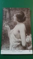 CPA SALON 1913 J A CHANTRON LIBELLULE FEMME AU BUSTE ET EPAULE NUS NU NUE - Pintura & Cuadros