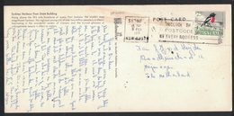 AE154    Australia 1968 25c Scarlet Robin Solo Post Card Cover To Netherland - 1966-79 Elizabeth II