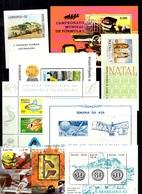 Brésil 24 Blocs-feuillets Neufs ** MNH 1967/1988. Bonnes Valeurs. TB. A Saisir! - Blocs-feuillets